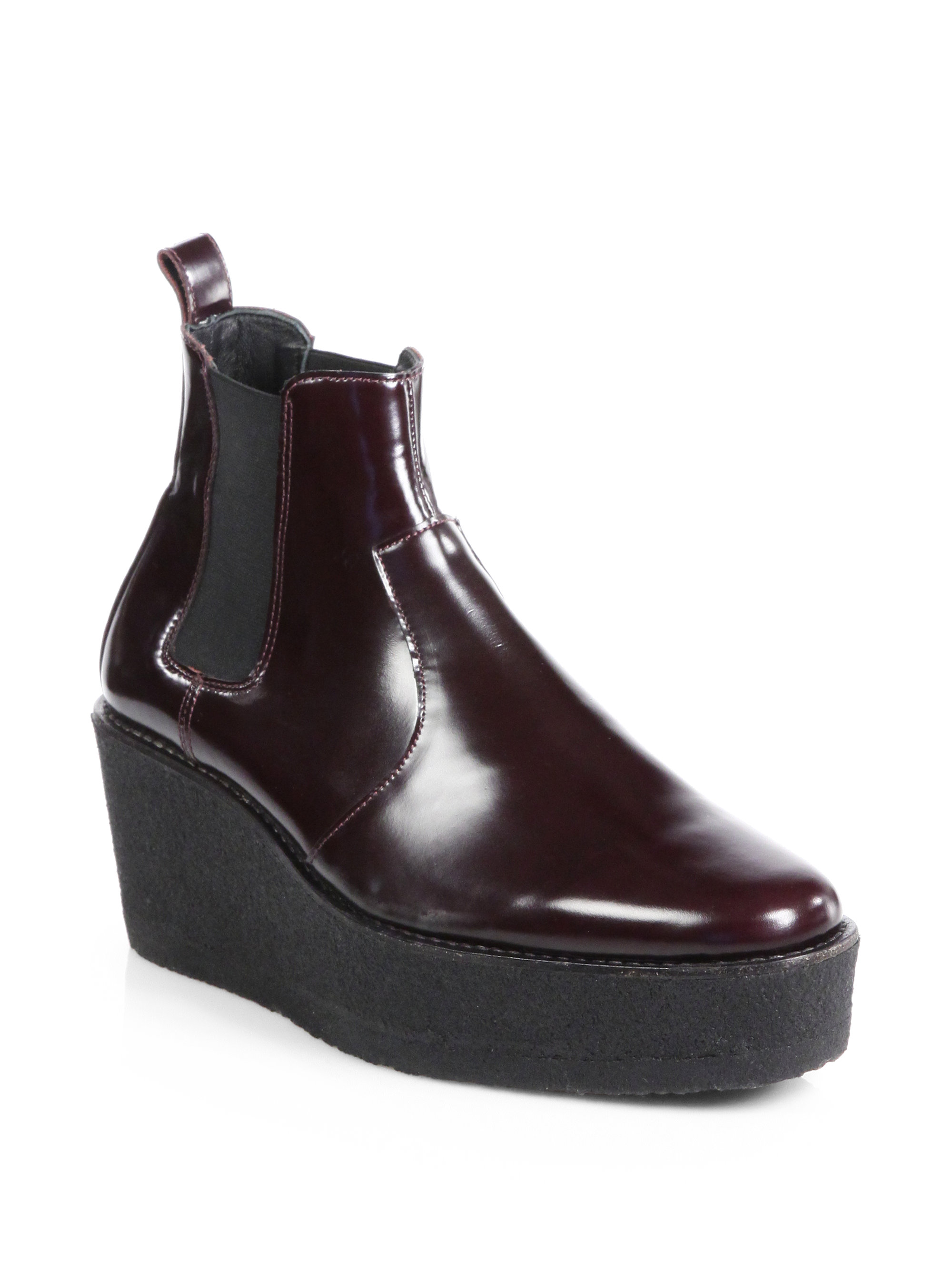 discount order Pierre Hardy Leather Wedge Boots sneakernews for sale free shipping new 5g1AzE