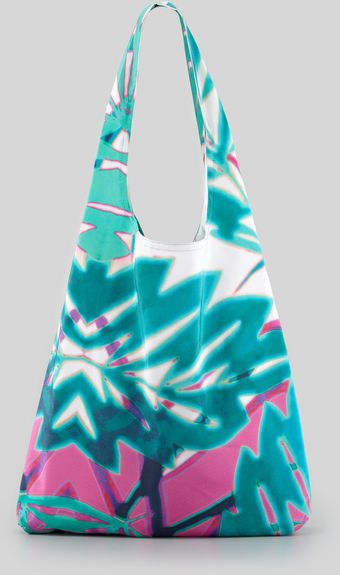 Cynthia Vincent Summer Leaf Shopper Bag - Lyst
