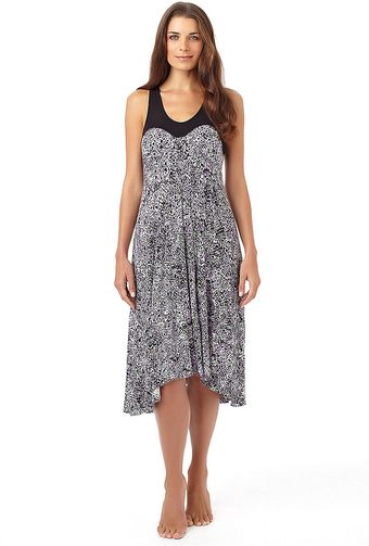 DKNY Sleeveless Pleated Nightgown - Lyst