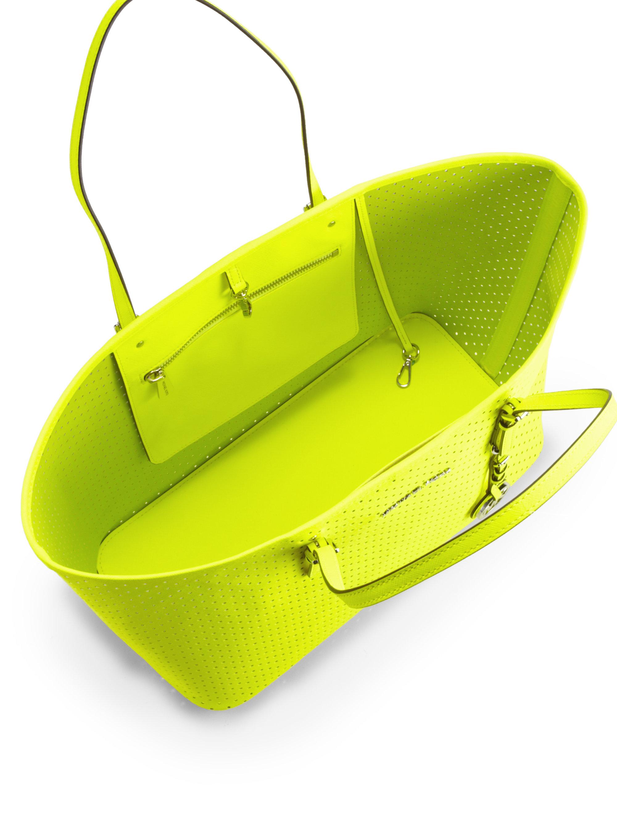 878057021c67 MICHAEL Michael Kors Medium Travel Tote Bag in Yellow - Lyst