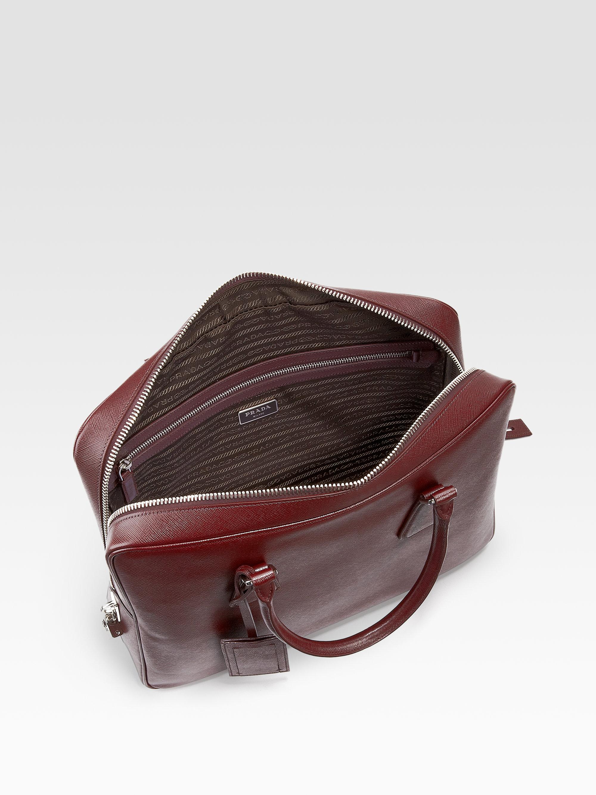 prada handbags cheap - Prada briefcase cocoa brown