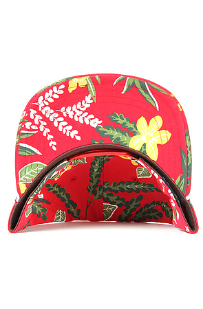 11217ed14f9 Lyst - Vans The Broloha Surf Snapback Hat in Red Hawaiian in Red for Men