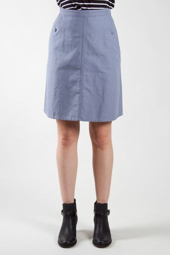 A.P.C. Workwear Skirt - Lyst