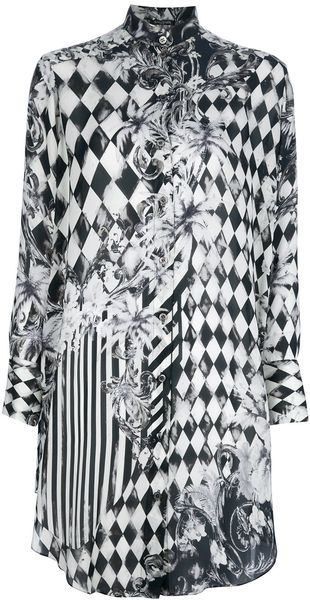 Balmain Devore Long Blouse - Lyst