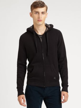 Burberry Brit Hooded Sweatshirt - Lyst