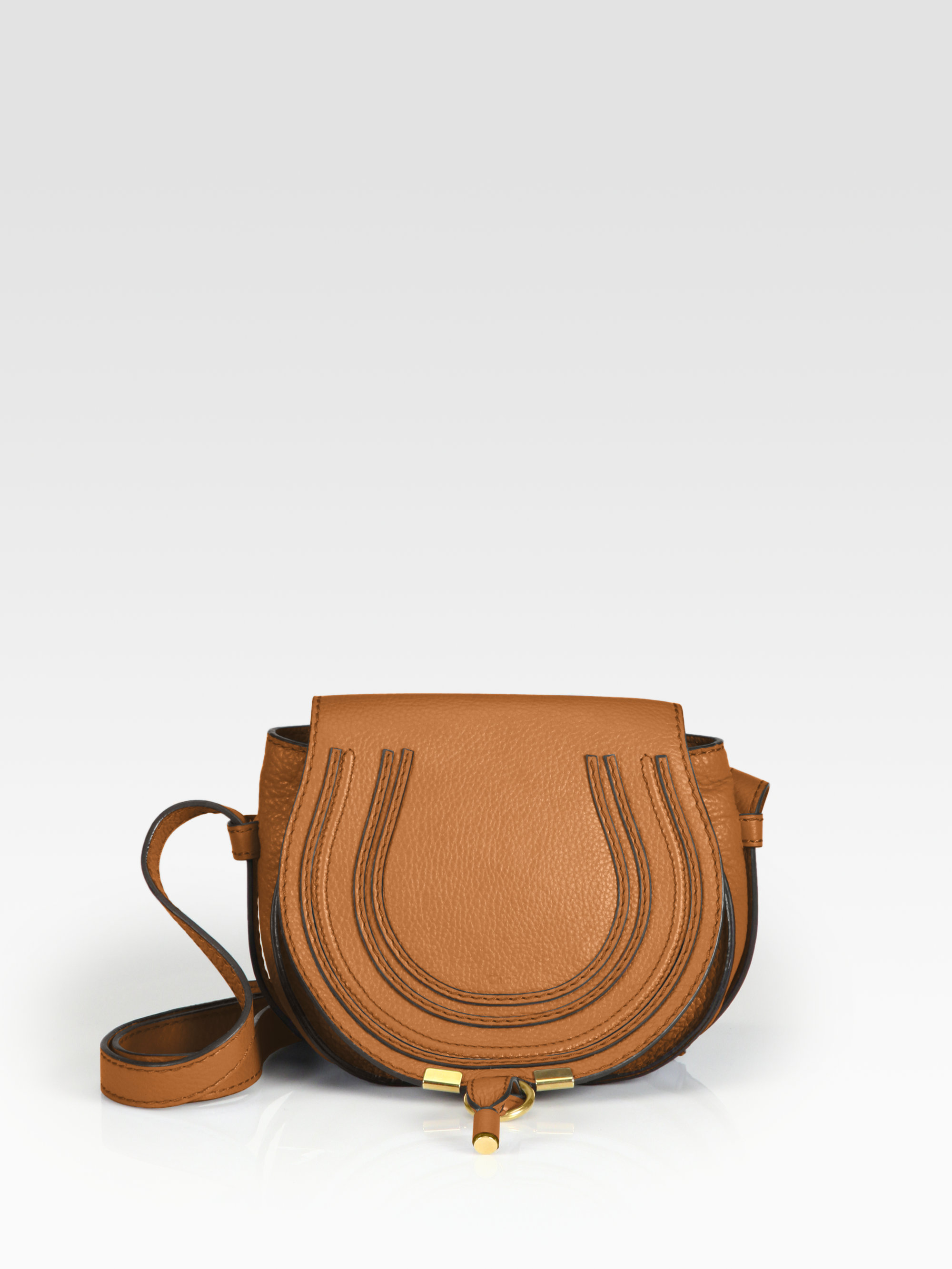 chole purses - Chlo�� Marcie Small Crossbody Bag in Brown (tan) | Lyst