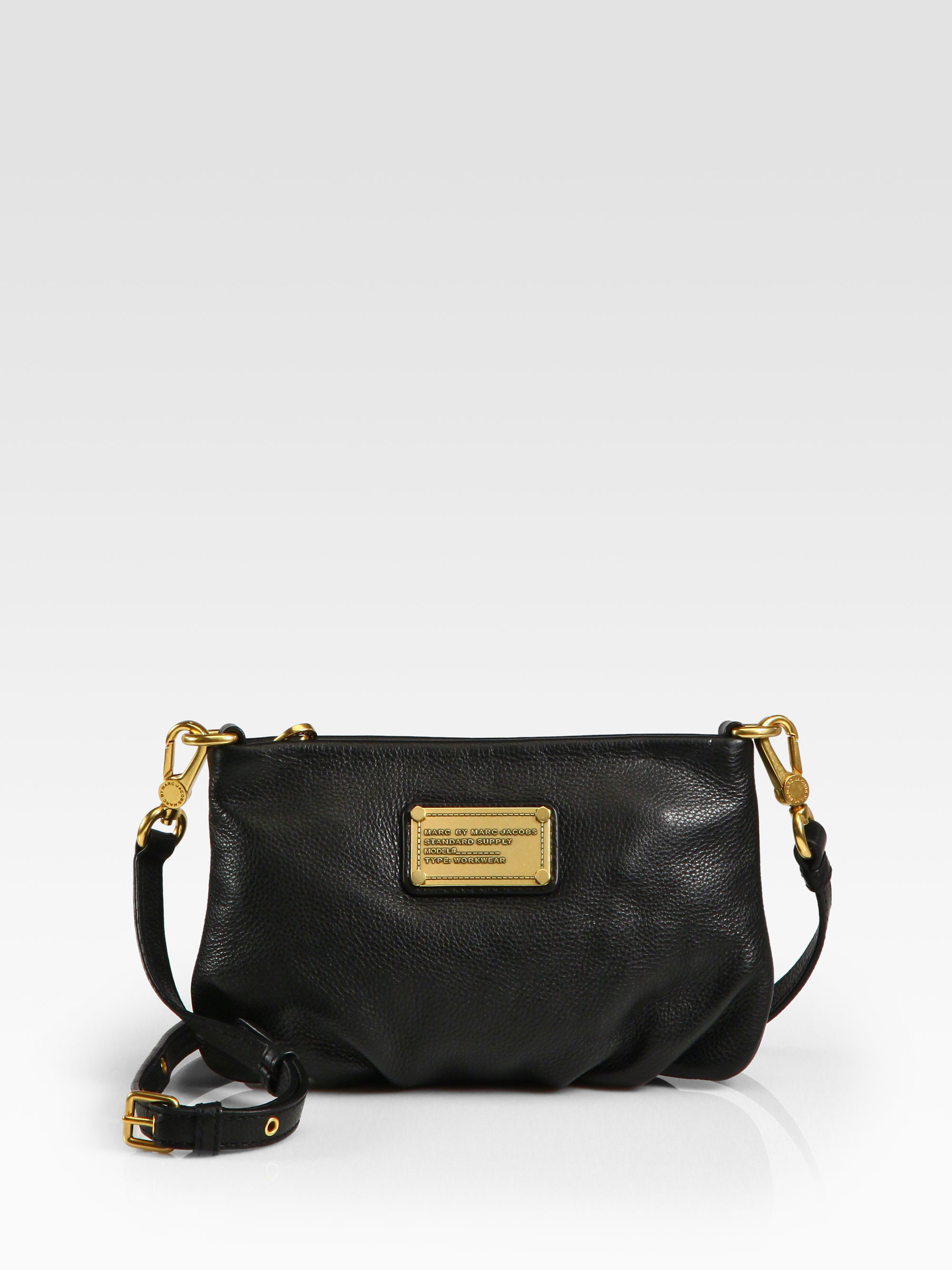 894f0c4f5a84 Lyst - Marc By Marc Jacobs Classic Q Percy Leather Cross-Body Bag in ...