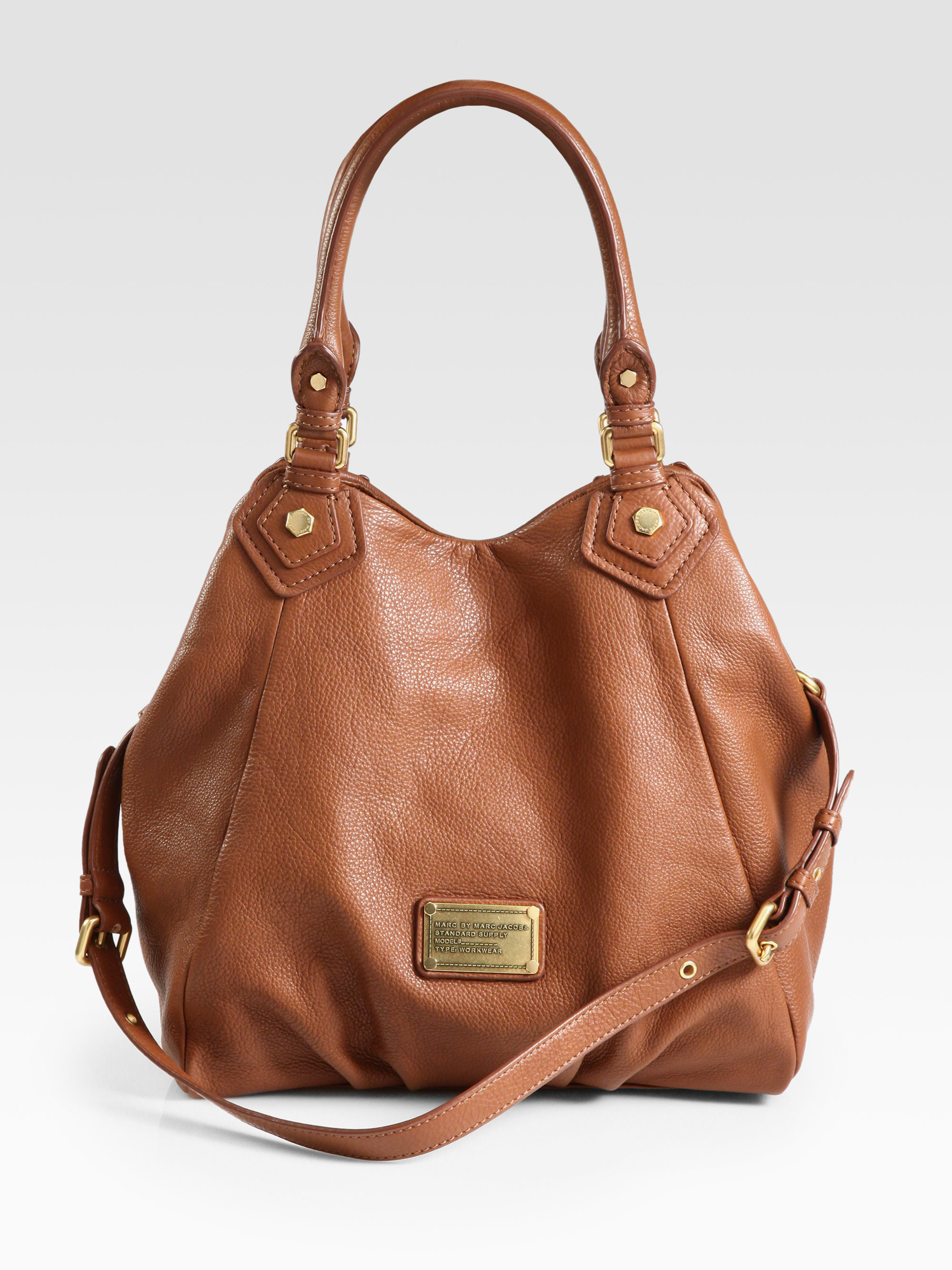 2c4d707bbae3 Lyst - Marc By Marc Jacobs Classic Q Fran Tote in Brown