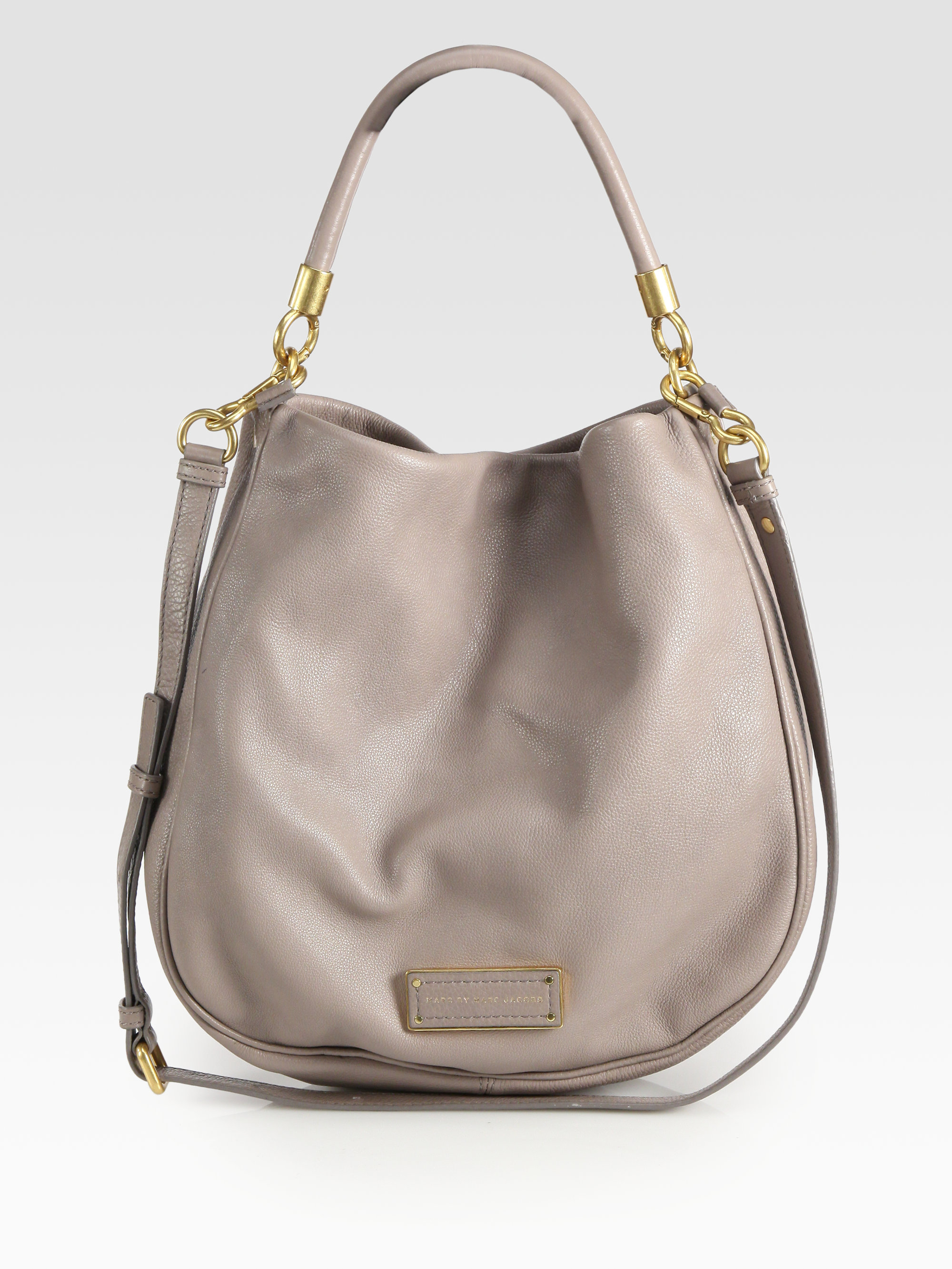 Marc by marc jacobs Too Hot To Handle Hobo Bag in Black | Lyst