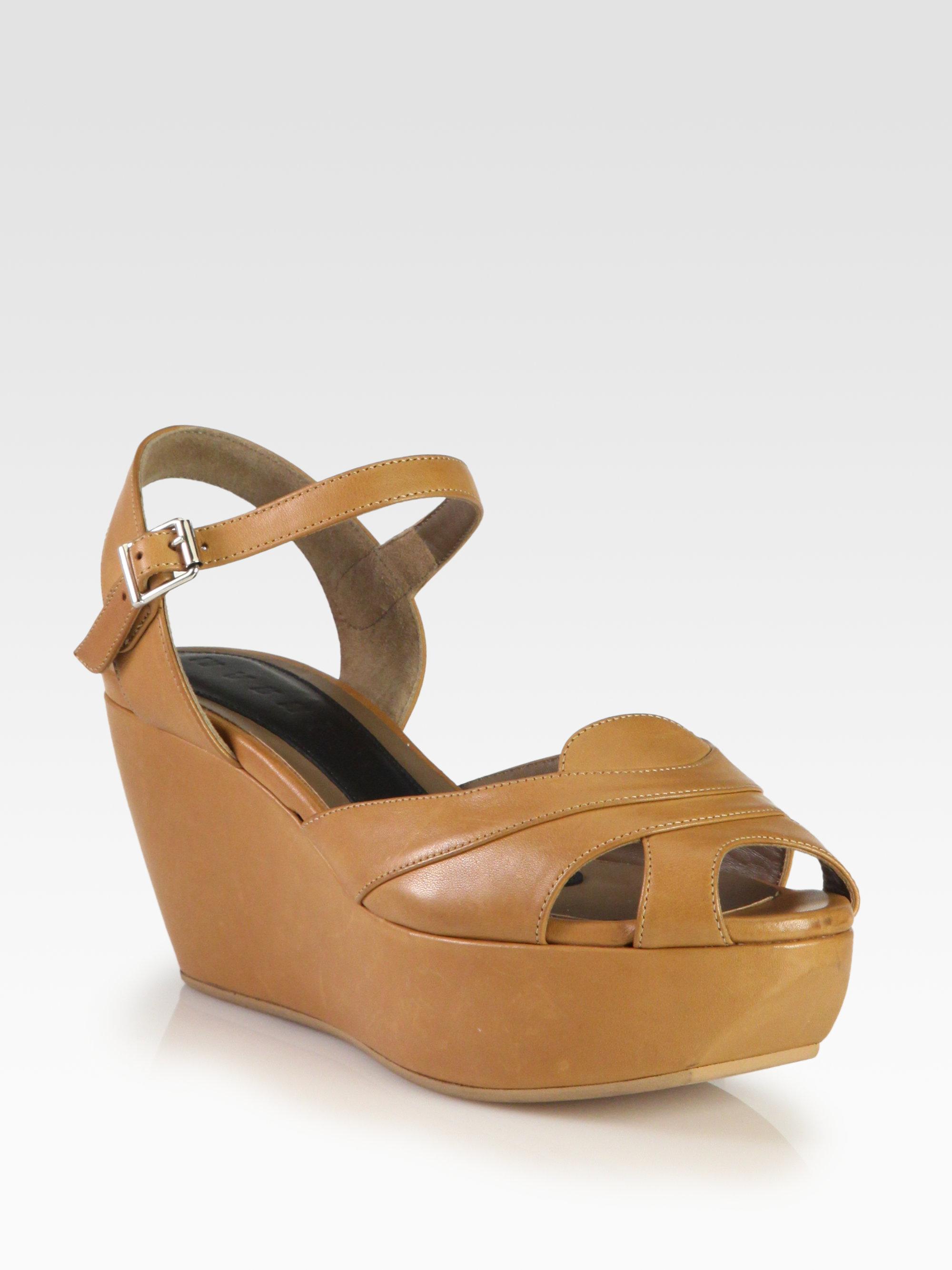 Marni Wedge platform sandals Outlet Shop Offer Buy Cheap Extremely Sale Visit EfFFiqukGO