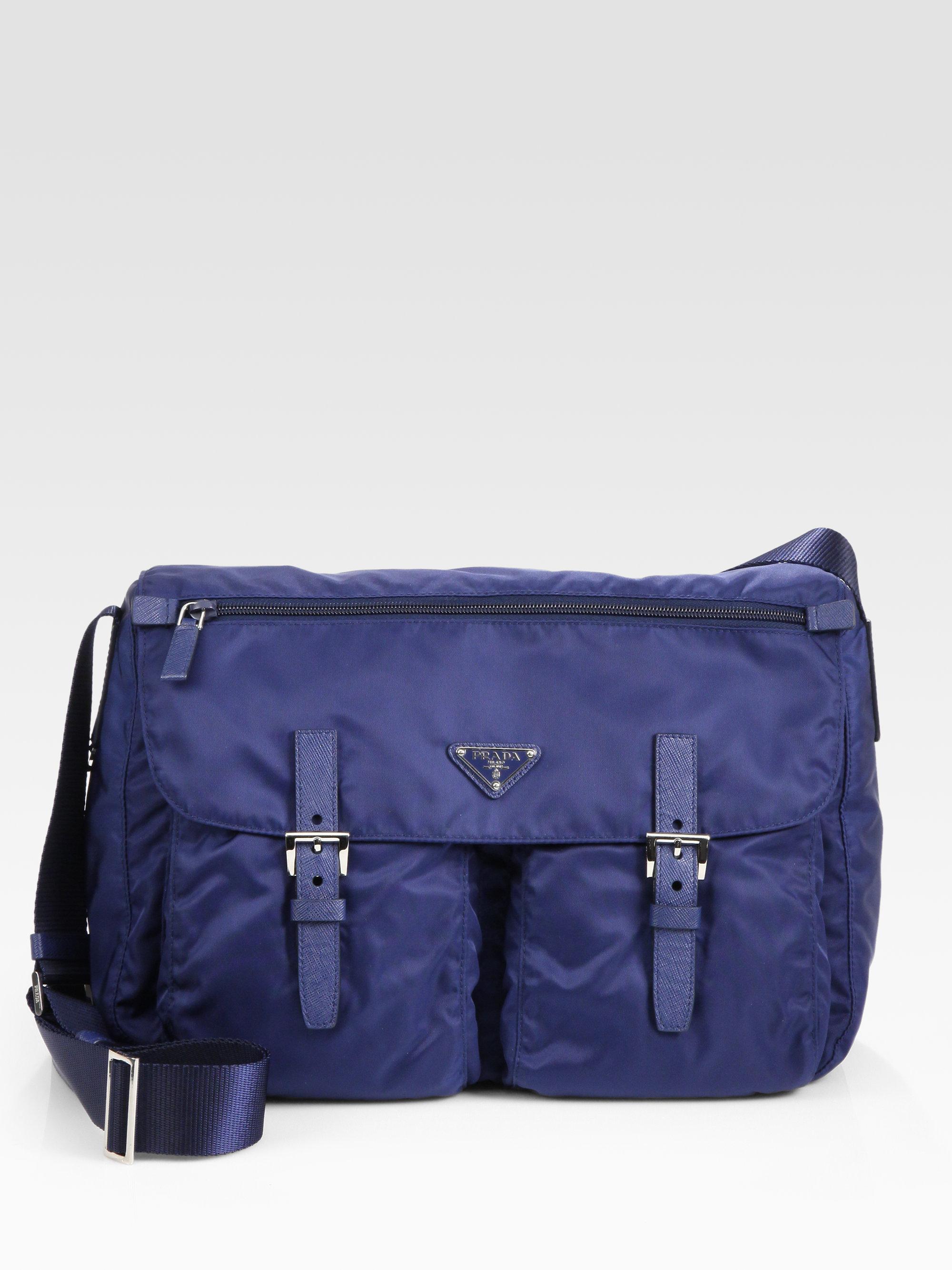 prada vela crossbody messenger bag
