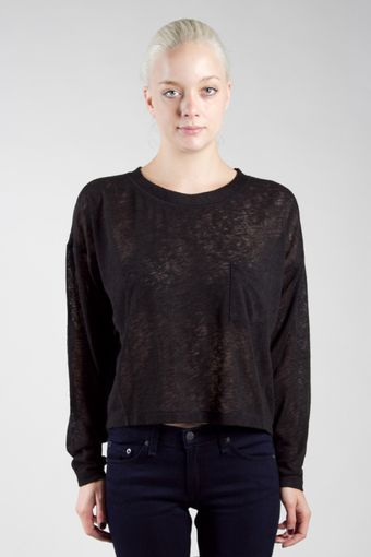 Rag & Bone The Pocket Long Sleeve Tee - Lyst