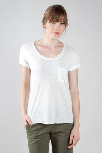 Rag & Bone The Pocket Tee Cotton - Lyst