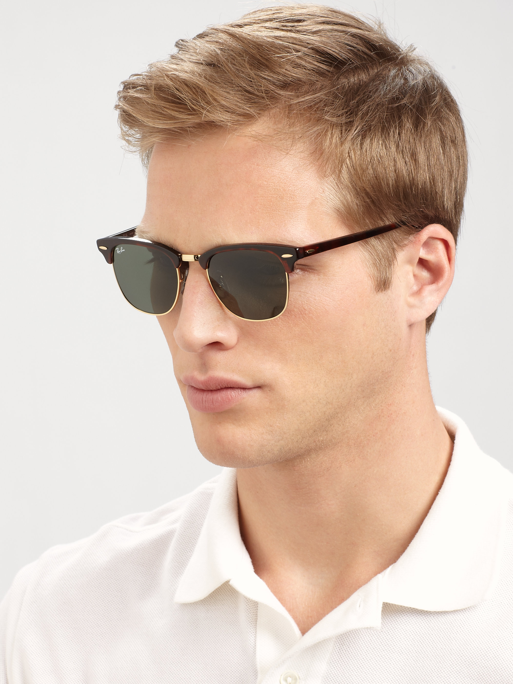 ray ban unisex sunglasses clubmaster  ray ban clubmaster rose gold