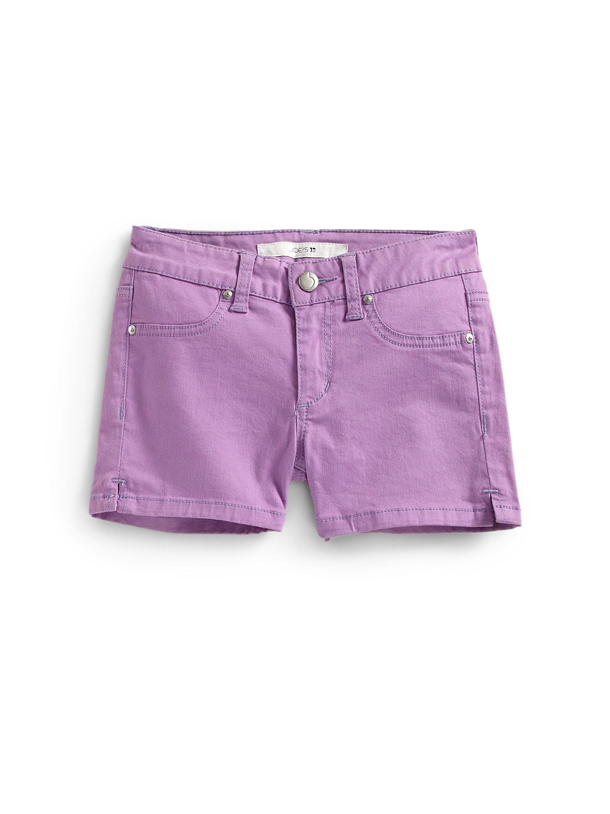 Joeu0026#39;s Jeans Girls Denim Shorts in Purple | Lyst