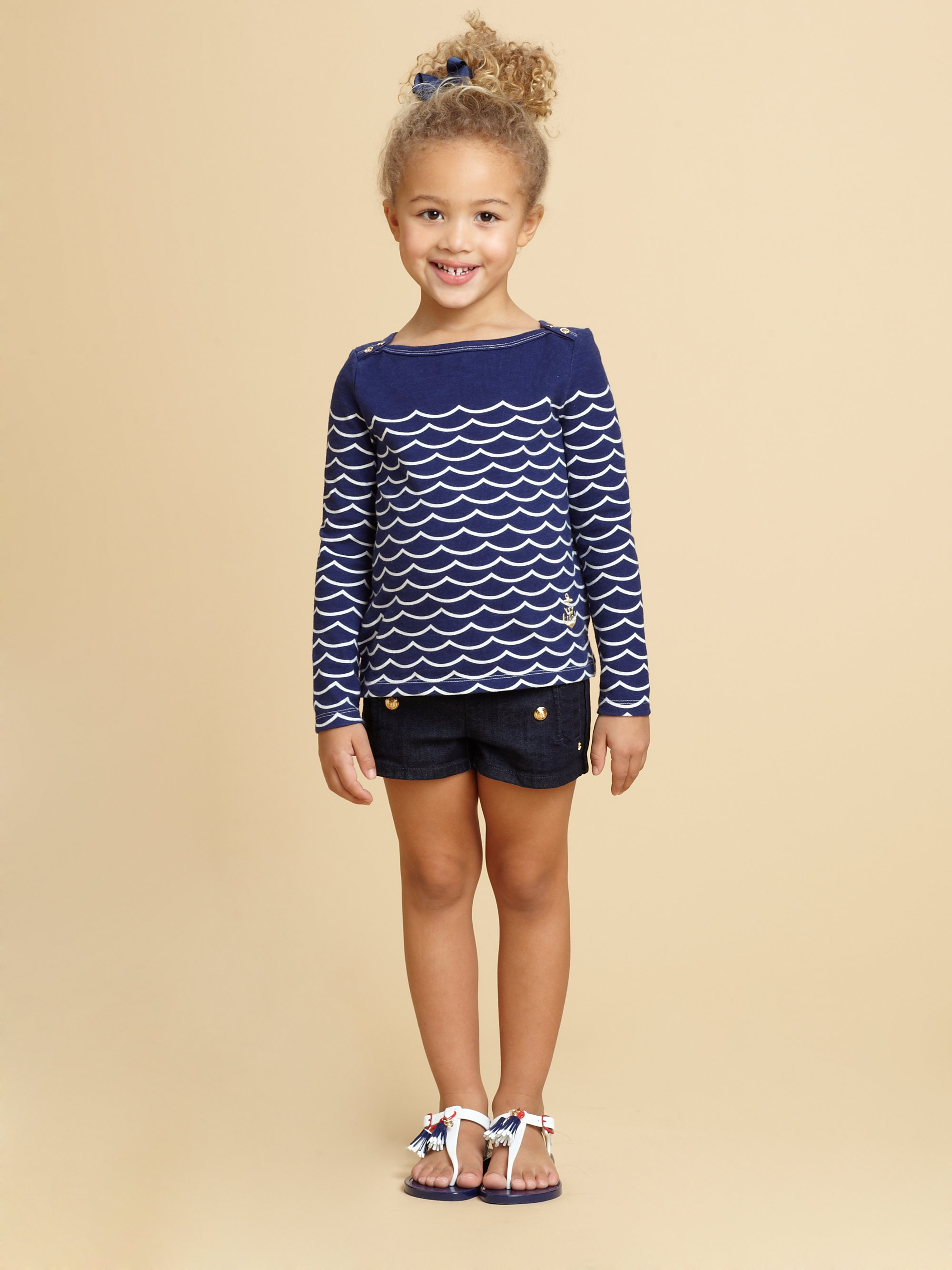 Lyst - Juicy Couture Toddlers Little Girls Denim Sailor ...