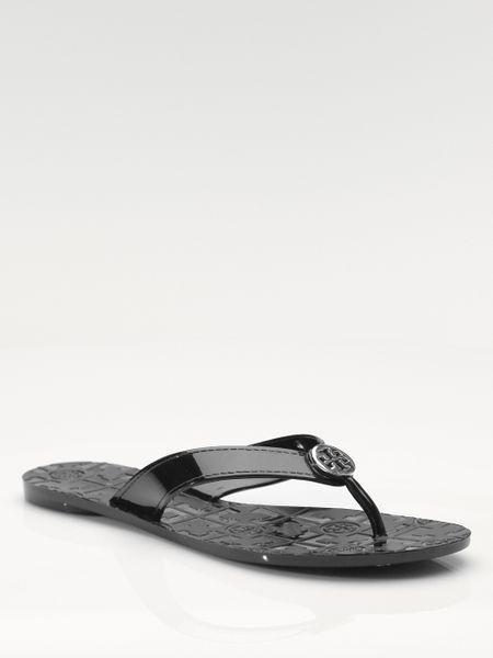 9d7882631 Ugg Black Patent Flip Flops