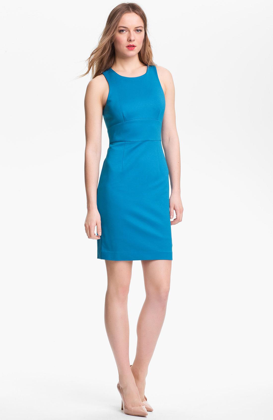Trina Turk Blue Dress