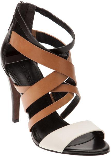 Carvela black strap heels size 41 - 1 part 5