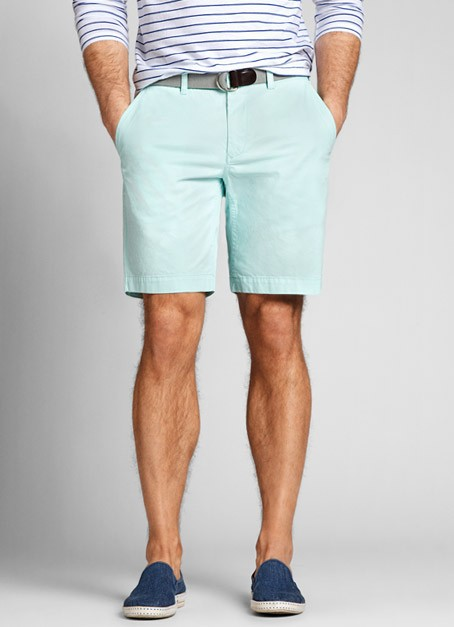 Baby Blue Shorts Mens - The Else