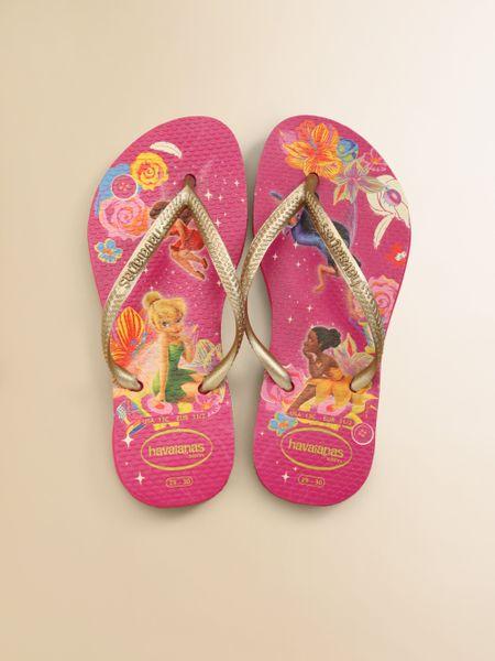 Havaianas Little Girls Girls Glowinthedark Tinkerbell Flip