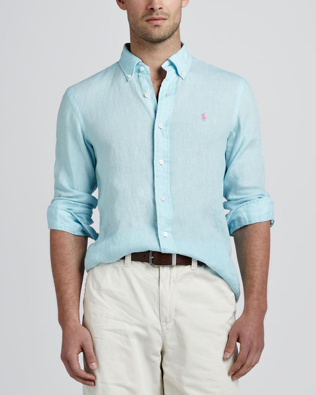 polo ralph lauren outlet canada ruit  mens blue ralph lauren shirt