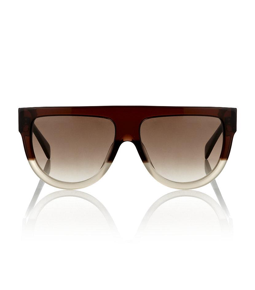 2f3c177021c Céline Shadow Sunglasses in Brown - Lyst