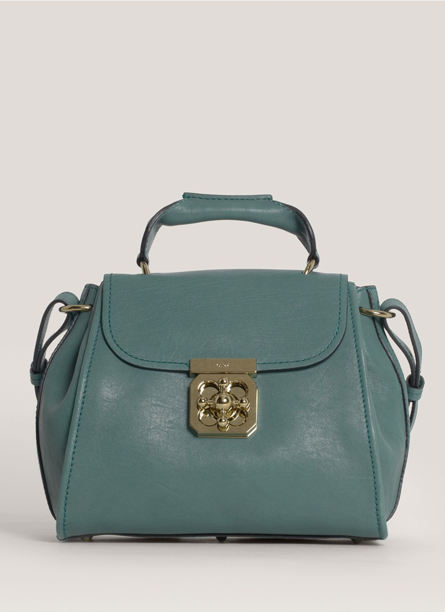 8e1bc7b20044 Lyst - Chloé Elsie Small Satchel in Green