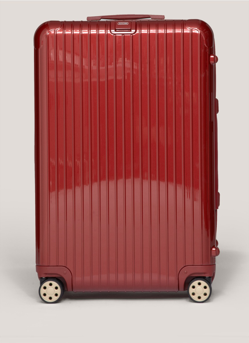 rimowa salsa deluxe multiwheel in red for men lyst. Black Bedroom Furniture Sets. Home Design Ideas