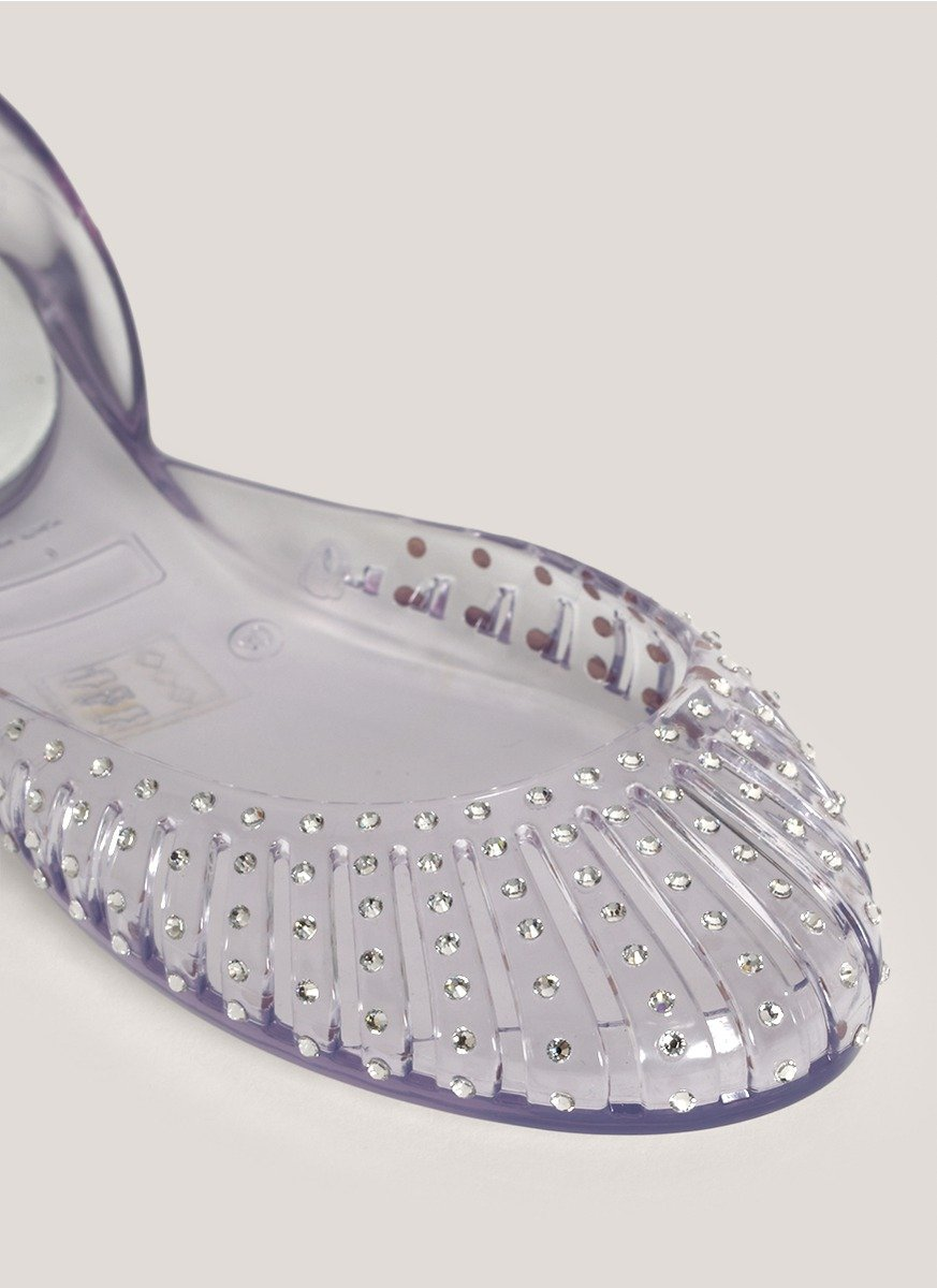 official site sale online Stuart Weitzman D'Orsay Jelly Flats new how much cheap online outlet exclusive GJi5nfPESK