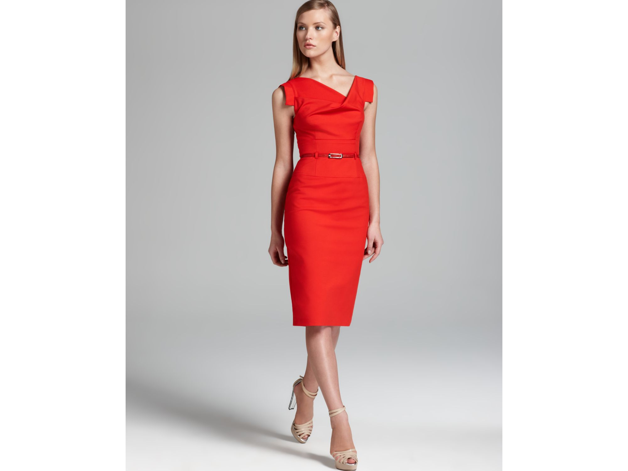 Black halo Dress Jackie O in Red  Lyst