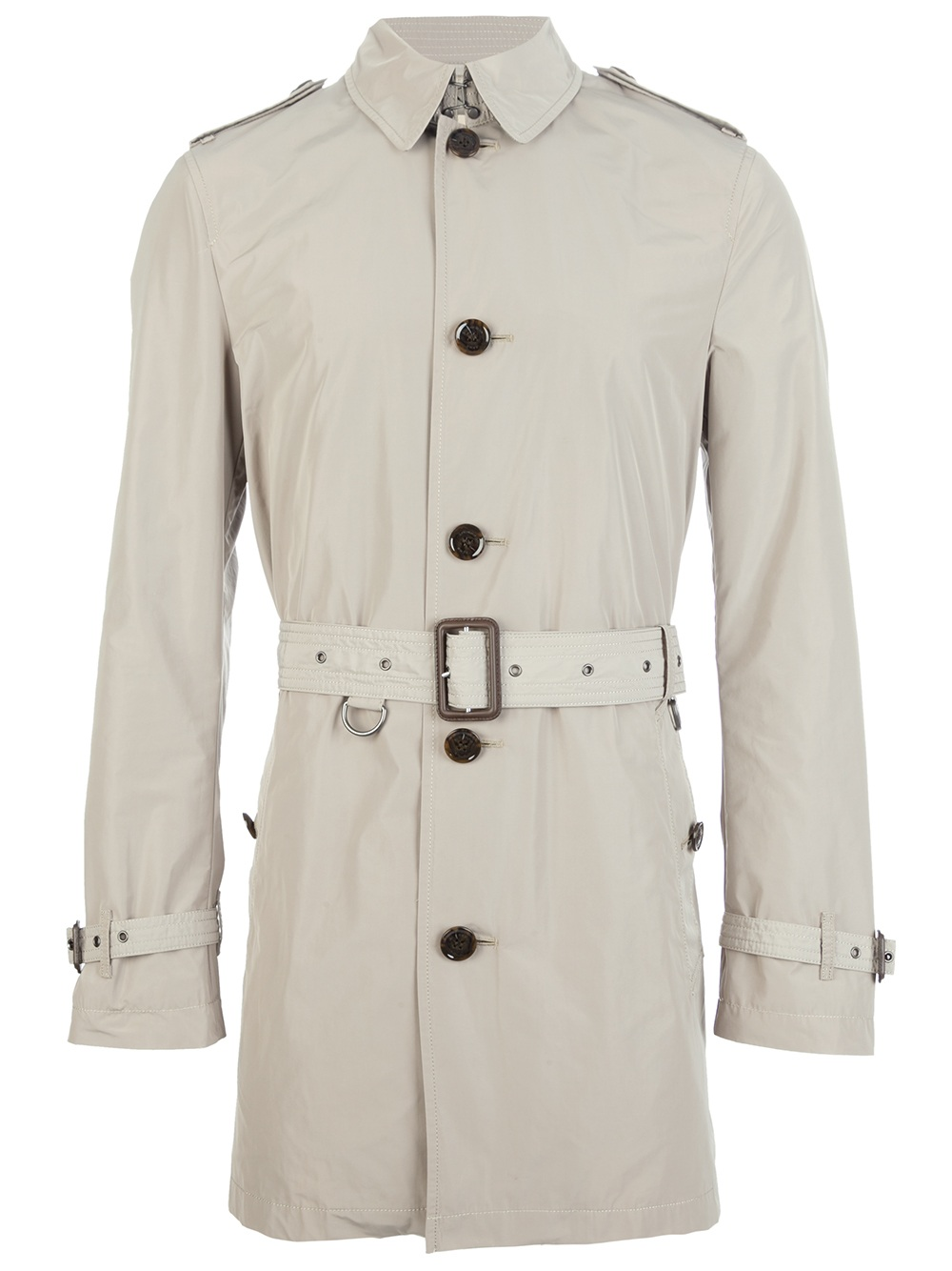 Burberry Brit Brixton Trench Coat in Gray for Men - Lyst 6f988dbc446
