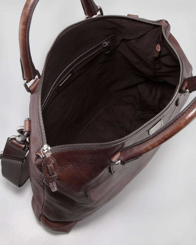 c8441c5ec1 Lyst - Dolce   Gabbana Harry Mens Ziptop Tote Bag in Brown for Men