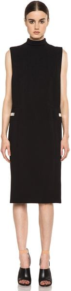 Givenchy Metal Side Dress in Black - Lyst