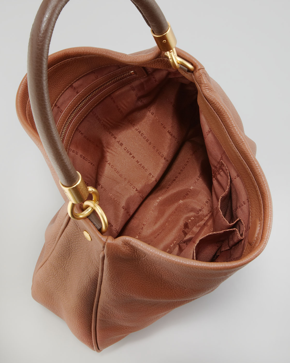 950d00cf715f Lyst - Marc By Marc Jacobs Too Hot To Handle Twotone Hobo Bag Brown ...