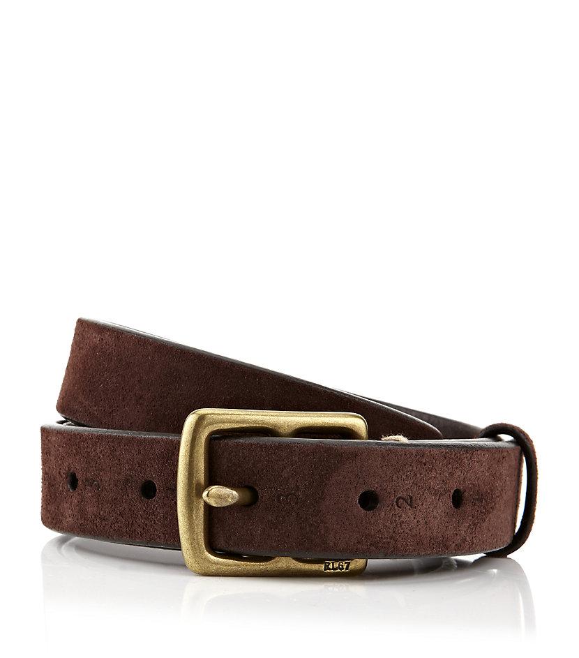polo ralph lauren equestrian belt in brown for men lyst. Black Bedroom Furniture Sets. Home Design Ideas