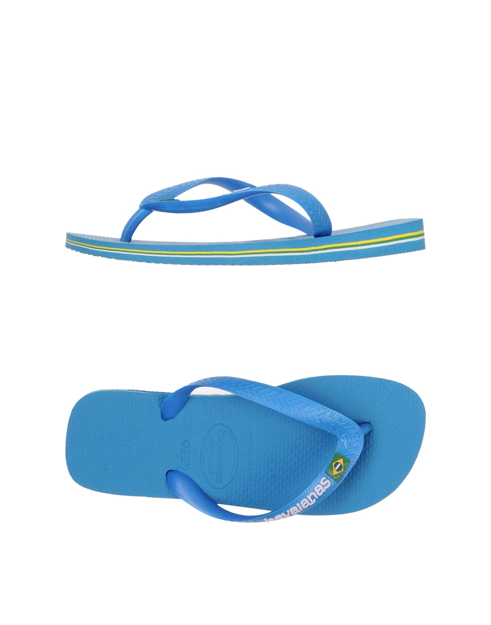 3fce2874a Havaianas Thong Sandal in Blue - Lyst