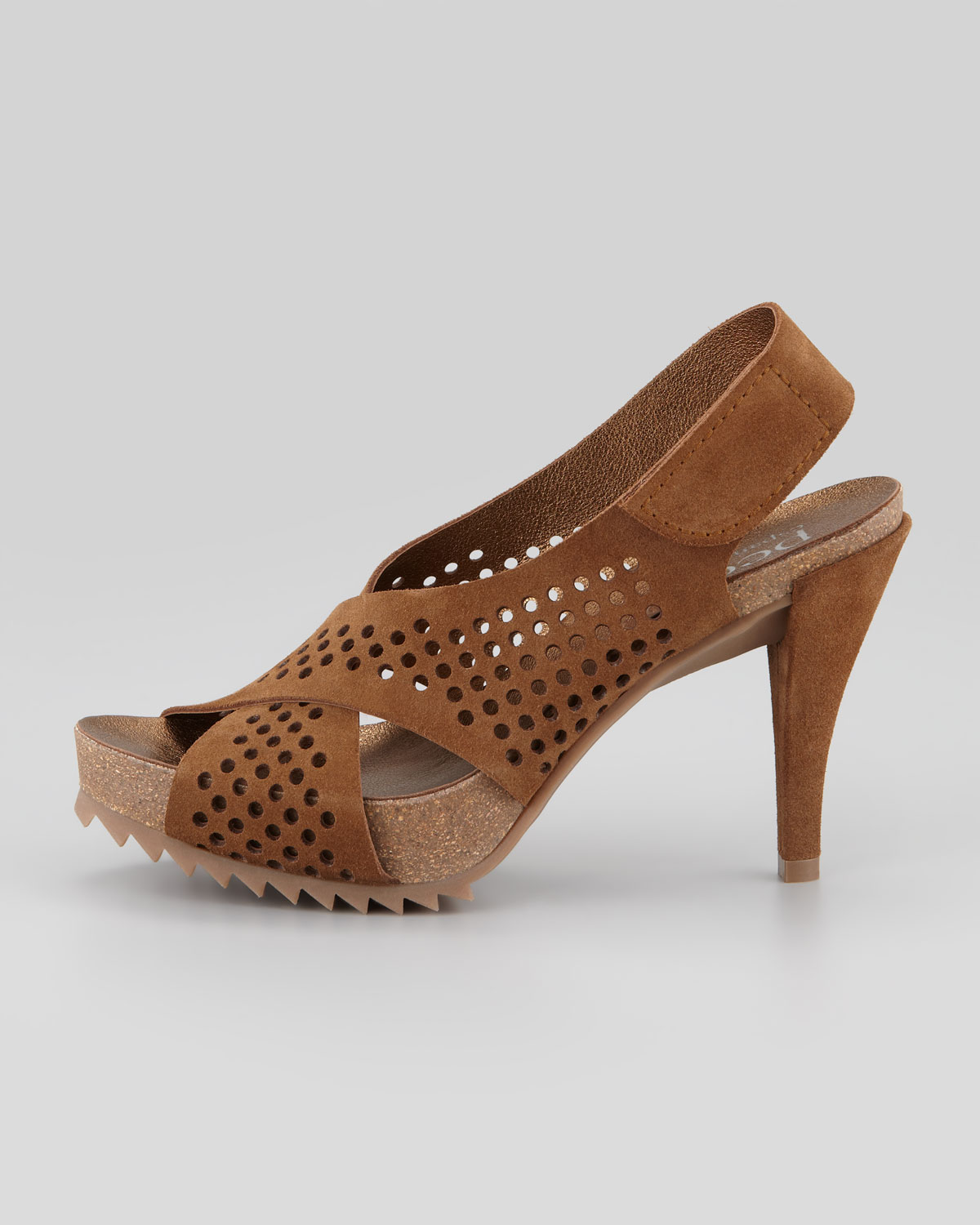 Pedro Garcia Suede Peep-Toe Sandals low price online clearance big discount buy cheap perfect fashion Style cheap online 100% original online BhGH3