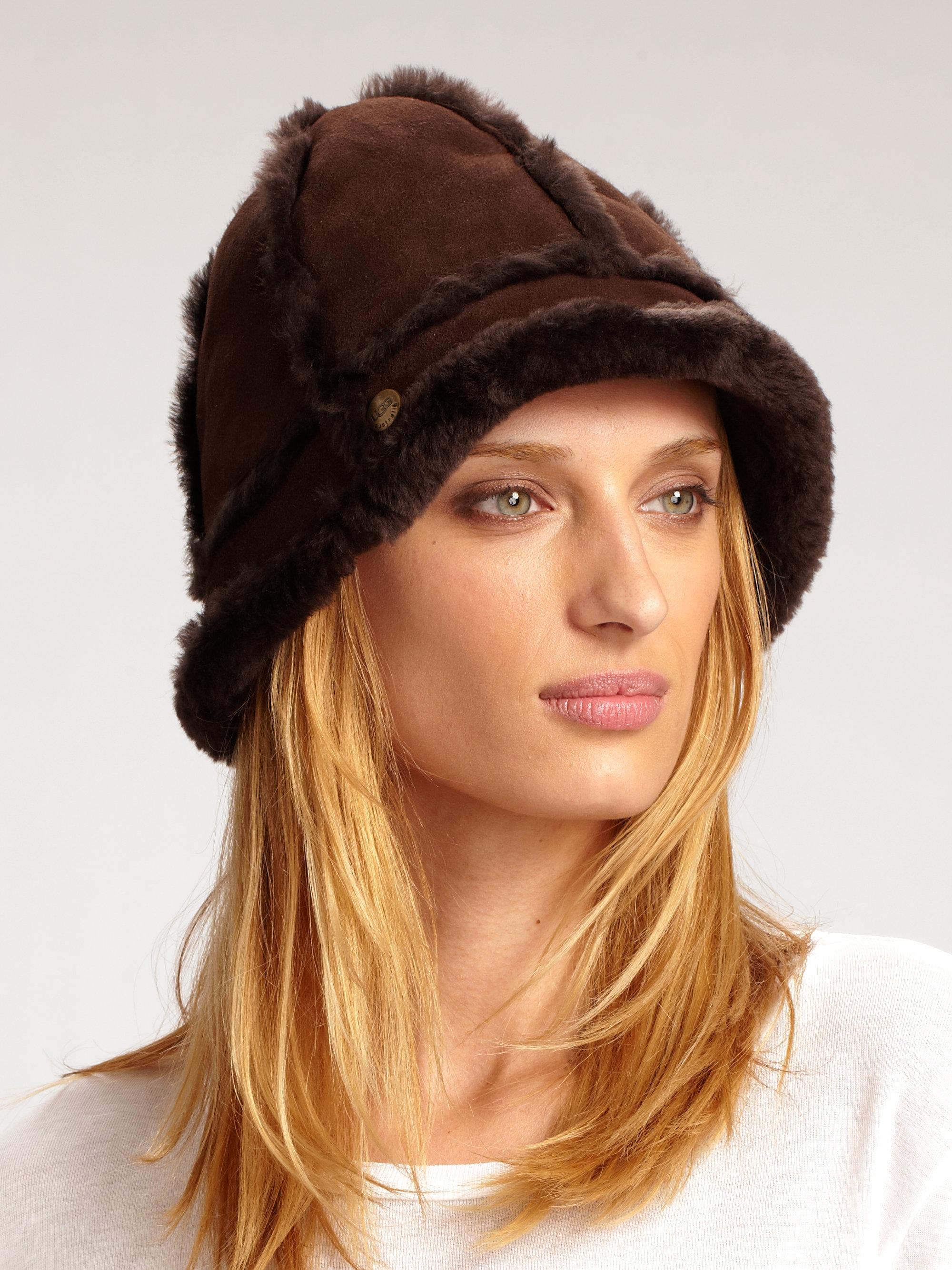 aa7fffd3c95 Lyst - UGG Ultra Bucket Hat in Brown