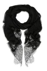 Valentino Lace End Scarf