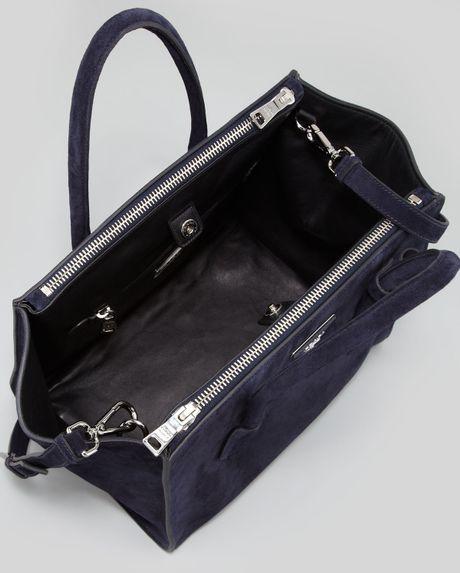 Black Handbag: Prada Black Suede Handbag