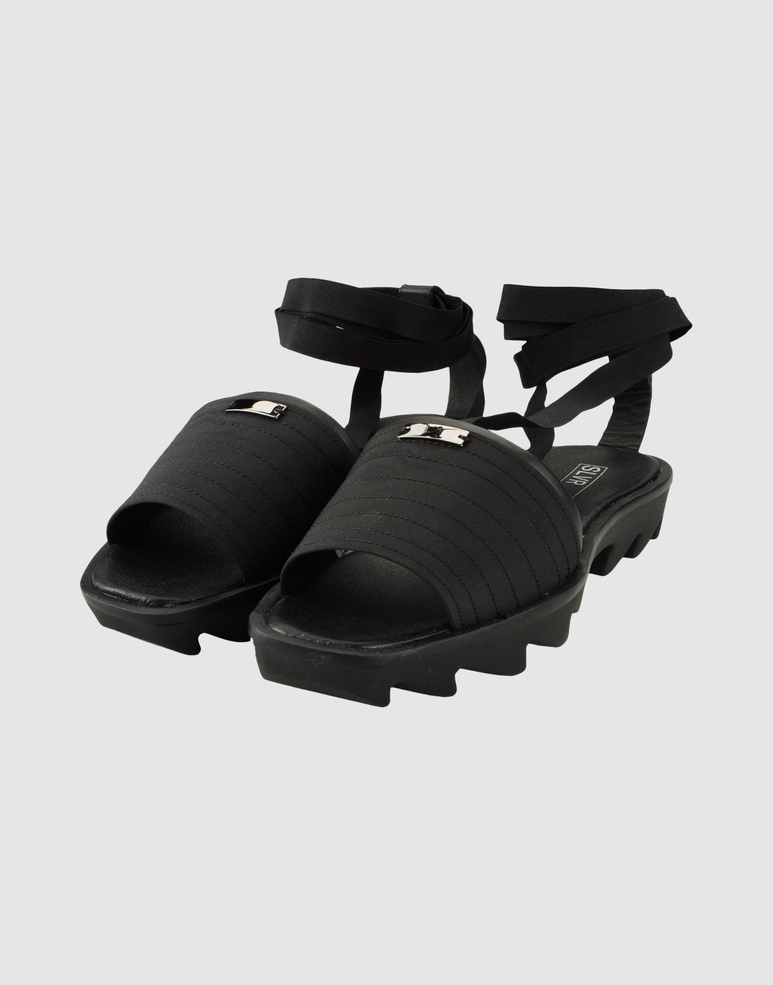 f467f7c91 Adidas SLVR Sandals in Black - Lyst