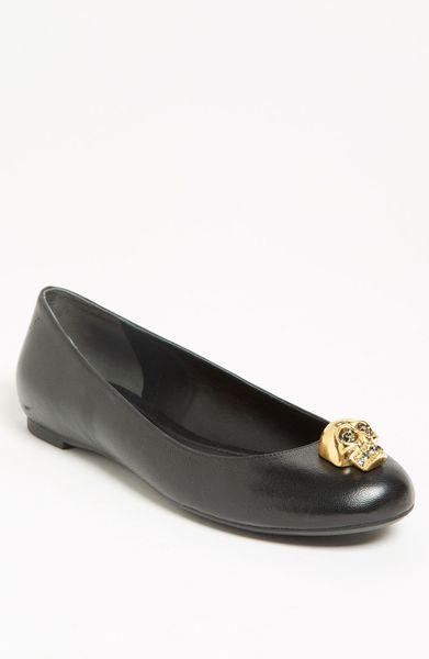 Alexander Mcqueen Flat Shoes Sale