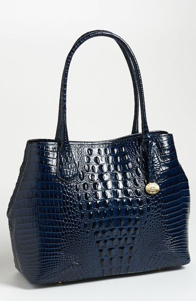 Brahmin Anytime Tote in Blue (navy) - Lyst