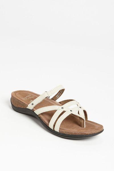 dansko jenelle sandal in white ivory patent lyst