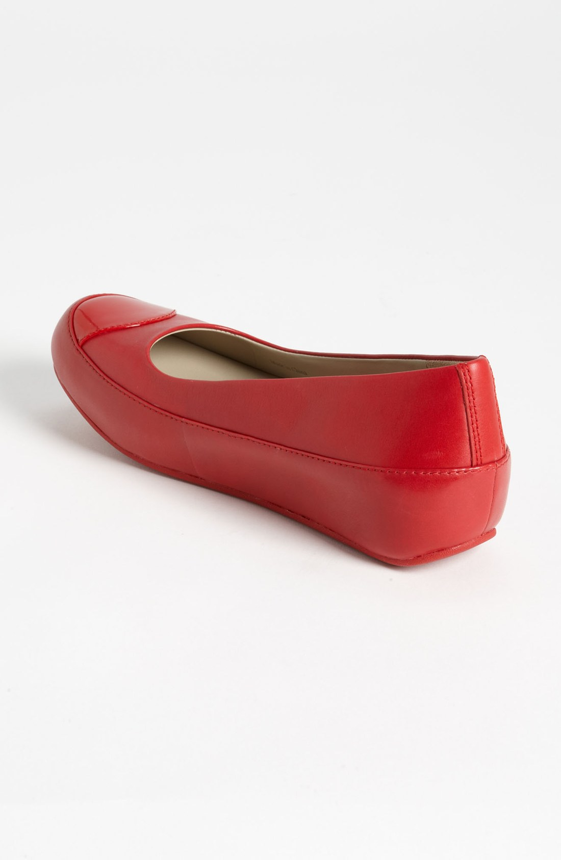 fitflop due leather rouge 1