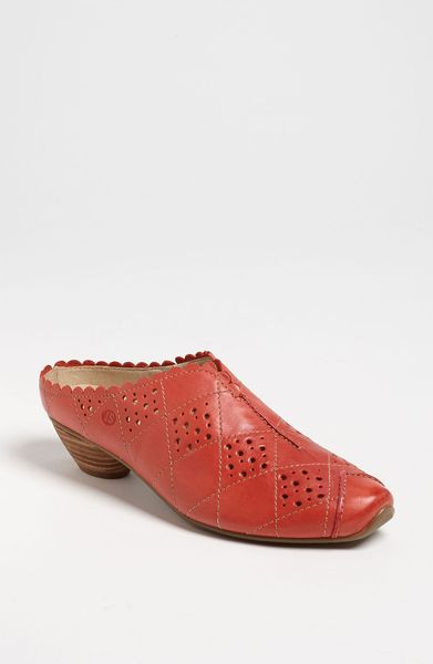 Josef Seibel Tina Clog Online Exclusive in Red
