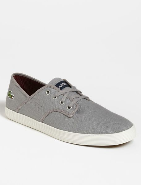 Lacoste Andover Cll Sneaker Men in Gray for Men (light grey/ dark blue)