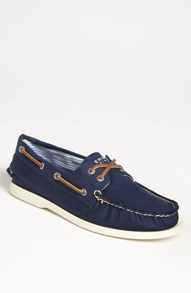 sperry top sider authentic original canvas boat shoe