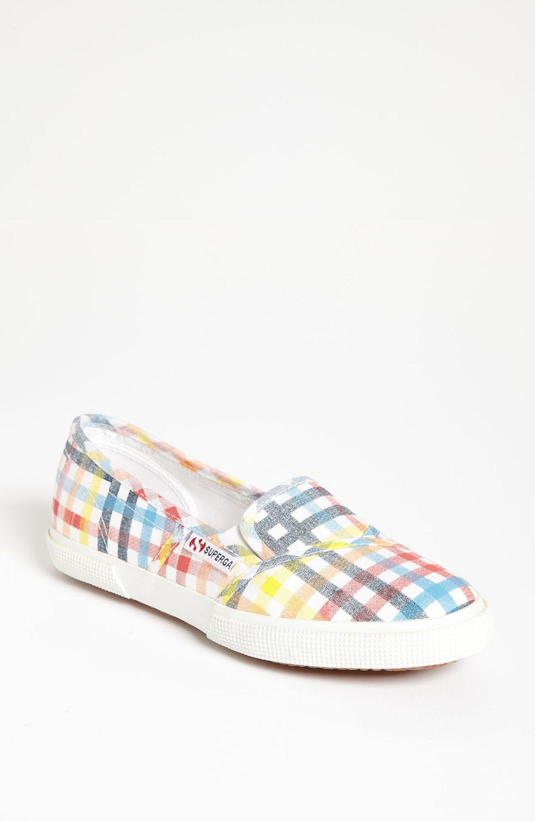 Superga: Superga A Line Sneaker Women In Multicolor (multi Gingham